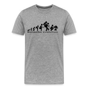 T-Shirt Homme Bonsaïka evolution texte Noir - T-shirt Premium Homme