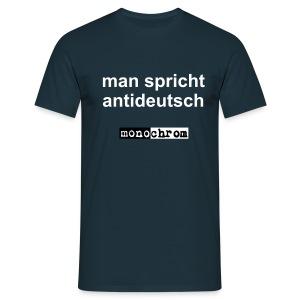 man spricht antideutsch - Men's T-Shirt