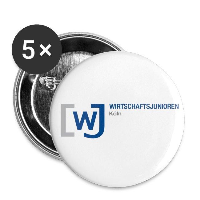 5 Buttons klein (2,5 cm)