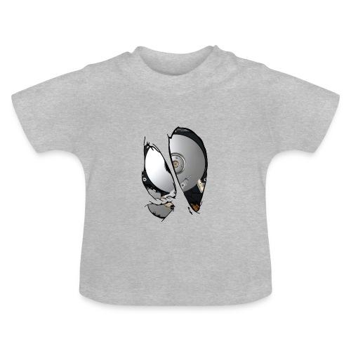 Disco duro dentro - Camiseta bebé