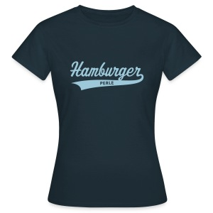 Hamburger Perle, Damen-T-Shirt - Frauen T-Shirt