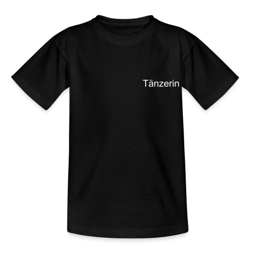T-Shirt Teenager Tänzerin - Teenager T-Shirt