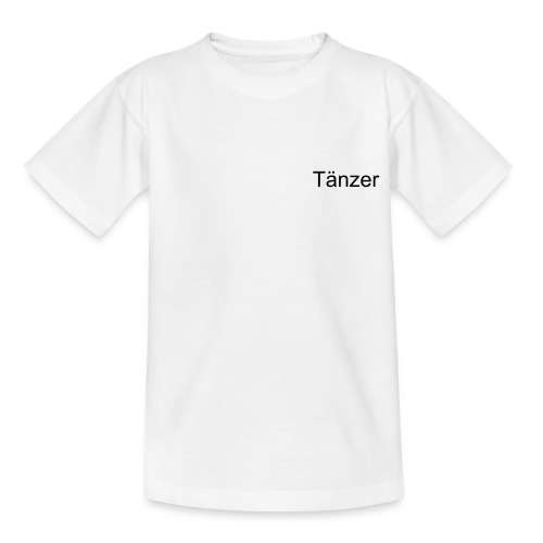 T-Shirt Teenager Tänzer - Teenager T-Shirt