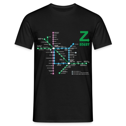 SoestMetro4 - Mannen T-shirt