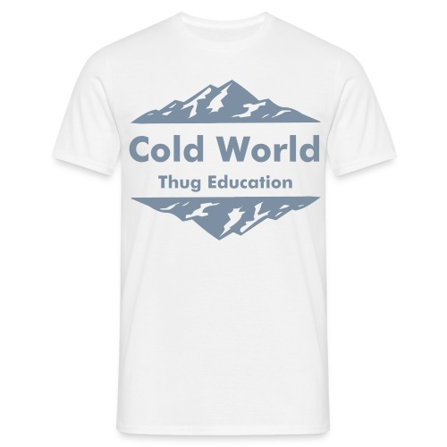 t shirt  Cold World   - T-shirt Homme