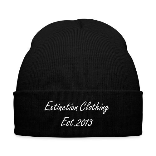Extinction Clothing Text Beanie - Winter Hat