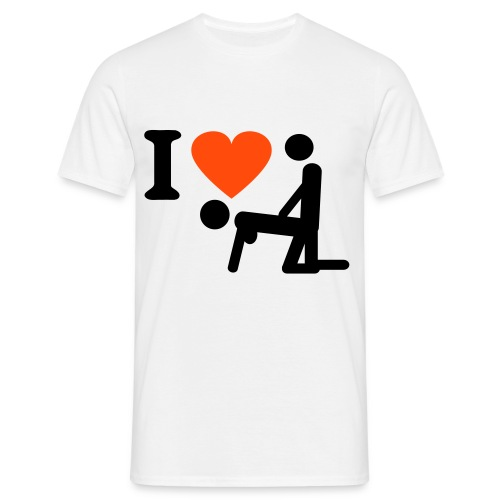 i love doggystyle - T-shirt herr