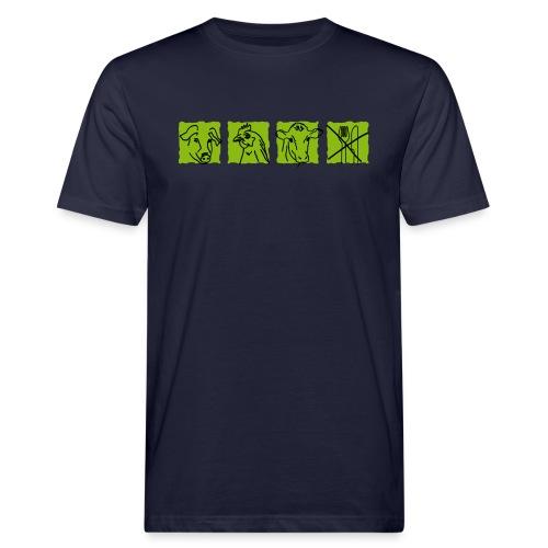 Ich esse keine Tiere_M - Männer Bio-T-Shirt