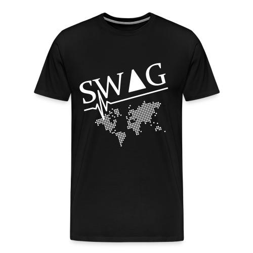 Herren T-shirt - Fühl den SWAG - Männer Premium T-Shirt