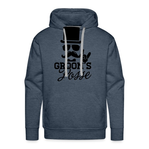 pull homme Nikolas Vukomanov - Sweat-shirt à capuche Premium pour hommes