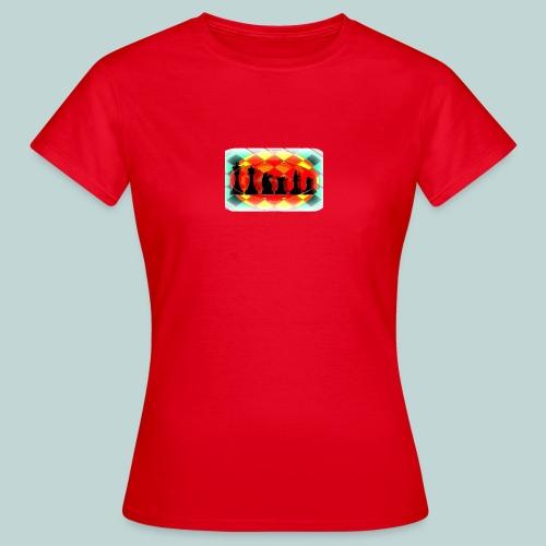 Figurensatz email - Frauen T-Shirt