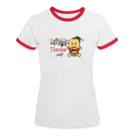 T-Shirts ~ Frauen Kontrast-T-Shirt ~ Innsbruck-Shirt