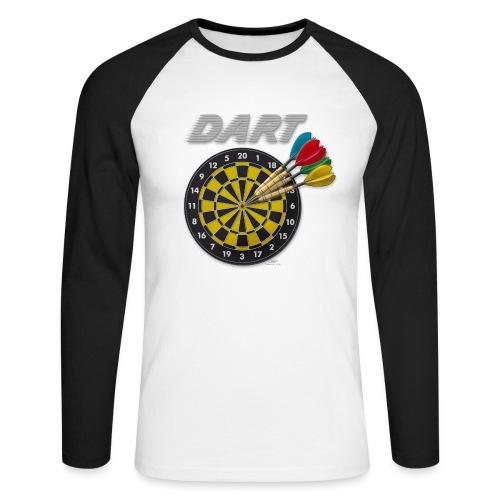 Dartshirt II - Männer Baseballshirt langarm
