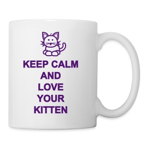 Love your kitten - Tasse
