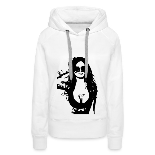 Sweat-Shirt a capuche femme Nikolas Vukomanov N°10 - Sweat-shirt à capuche Premium pour femmes