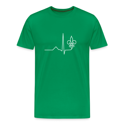 Scouts Heartbeat - Men's Premium T-Shirt