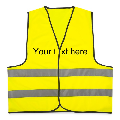 work shirt personalise yourself - Reflective Vest