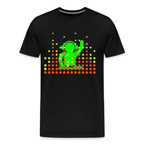 Dj Neon Grün #2 - Männer Premium T-Shirt