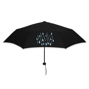 Small collapsible umbrella with raindrop design - Umbrella (small)