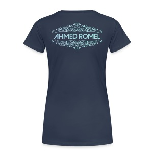 Ladies , Back (Original Logo Colors) - Women's Premium T-Shirt