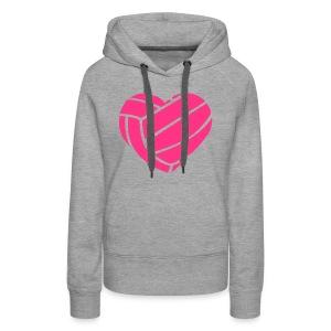 ''Volleybal'' ''Eline'' Meiden Sweater (NAAM STAAT OP ACHTERKANT) - Vrouwen Premium hoodie