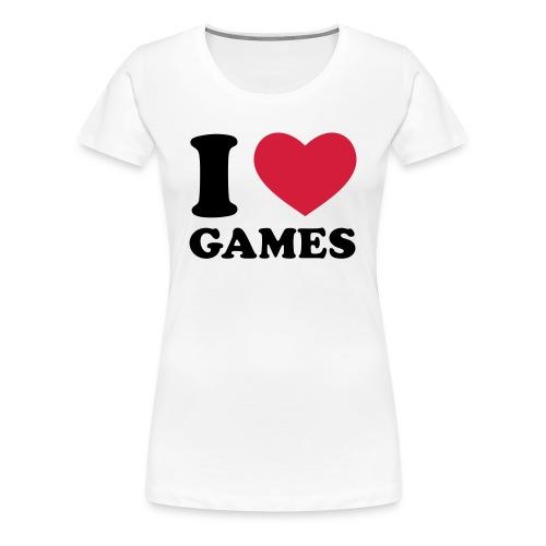 Femme - I  - T-shirt Premium Femme