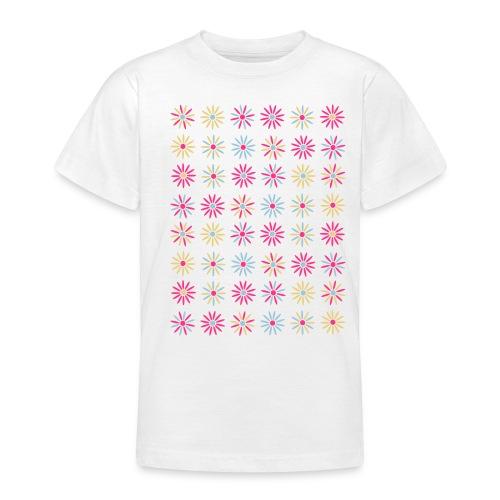 camiseta niños modelo little flowers - Camiseta adolescente
