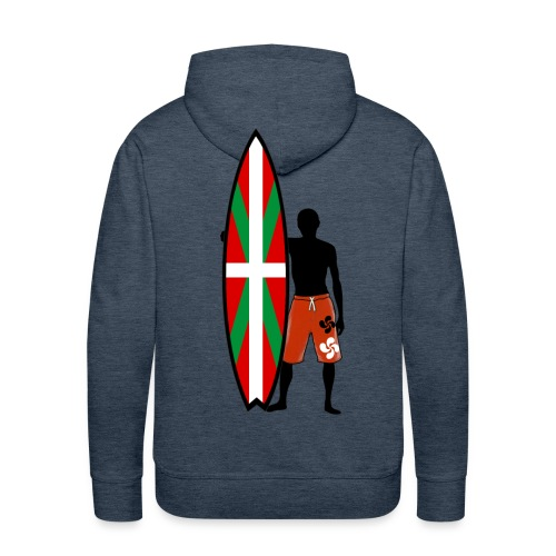 Basque surfing - Men's Premium Hoodie