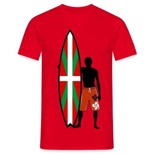 Basque surfing - Men's T-Shirt