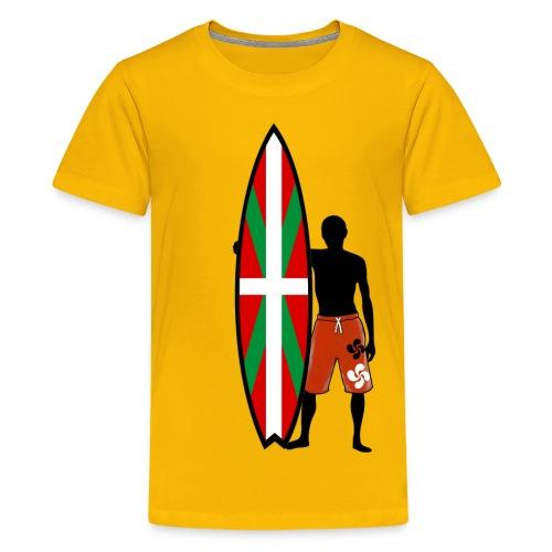 Basque surfing - Teenage Premium T-Shirt