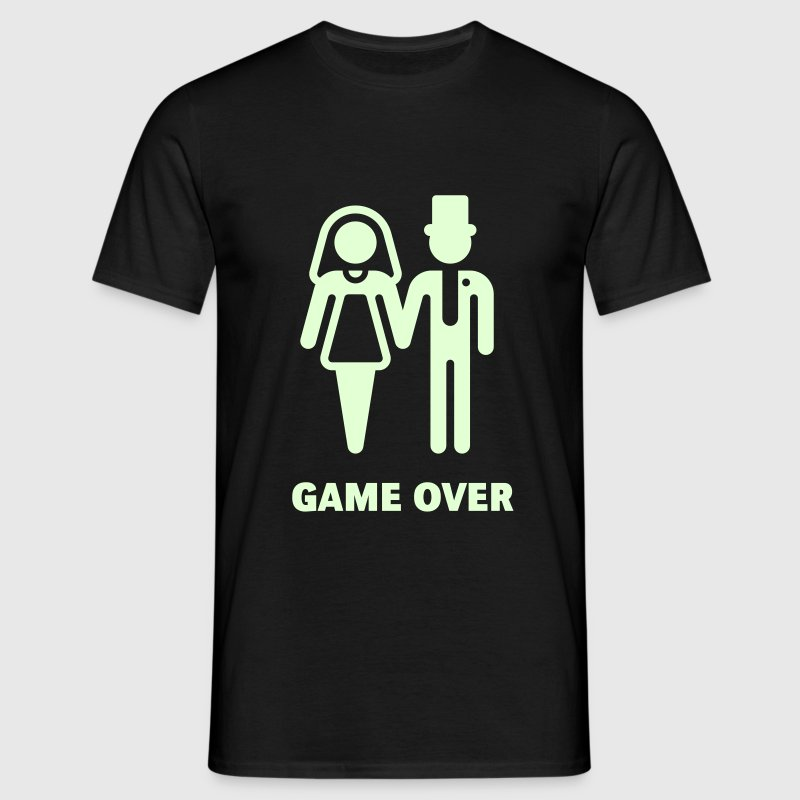 Game Over (Wedding / Marriage) T-Shirts - Men's T-Shirt