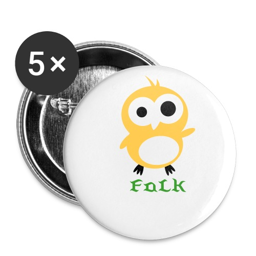 FaLk's PIN - Buttons large 2.2''/56 mm (5-pack)