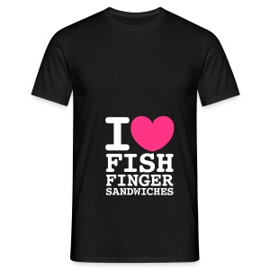 fish finger butties tee  - Men's T-Shirt