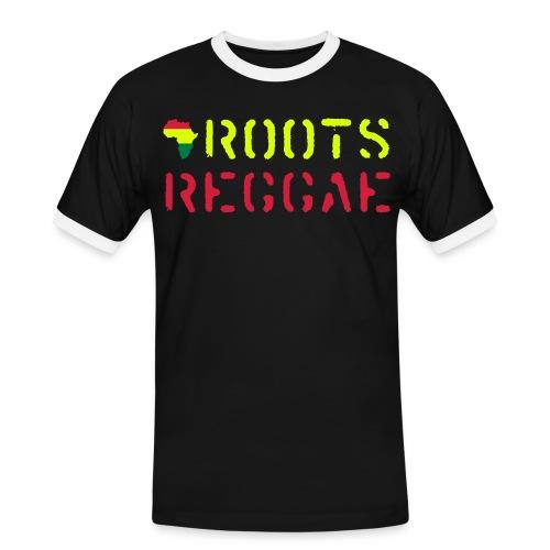 Roots Reggae T-Shirt - Männer Kontrast-T-Shirt