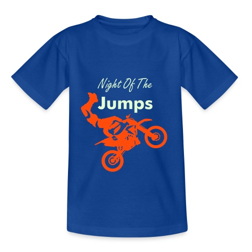 Night of the Jumps - Teenager T-Shirt