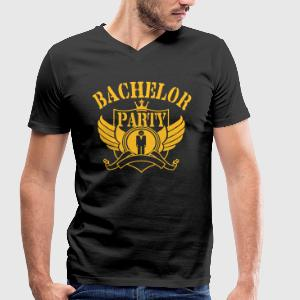 Bachelor Party T-Shirts - Men's V-Neck T-Shirt