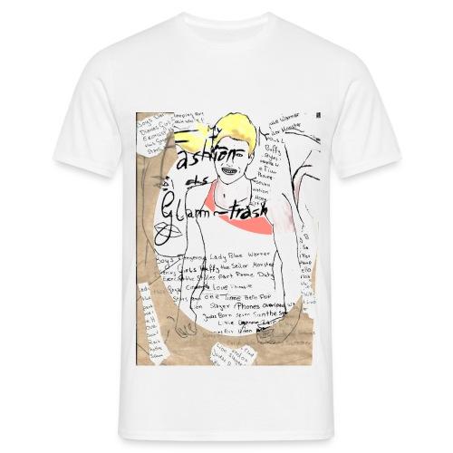 Glam-Trash-Word-Boys (Boys) - Männer T-Shirt