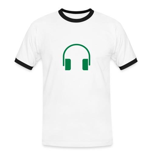 AUDIO - Camiseta contraste hombre