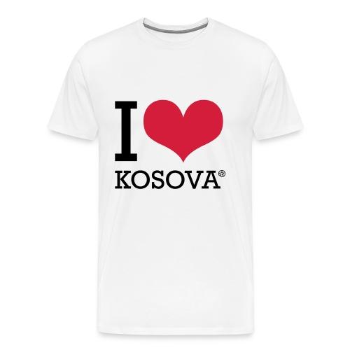 I Love Kosova - Men's Premium T-Shirt