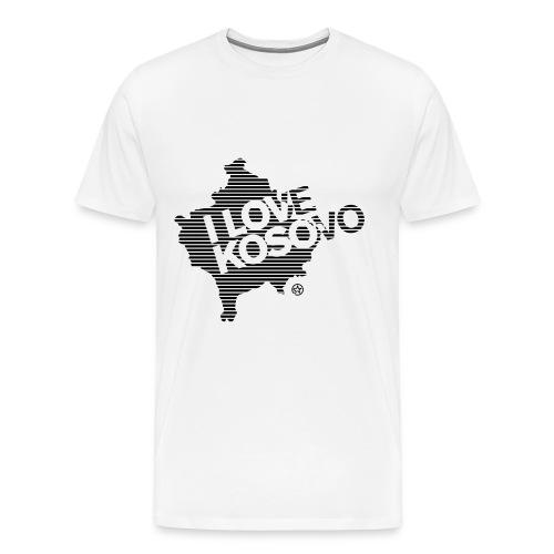 I Love Kosovo - Men's Premium T-Shirt