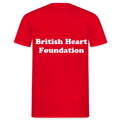British Heart Foundation T-shirt - Men's T-Shirt