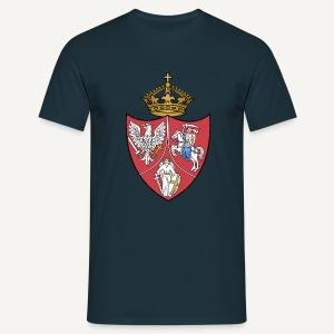 Herb powstańczy z czasów Powstania Styczniowego - Koszulka męska