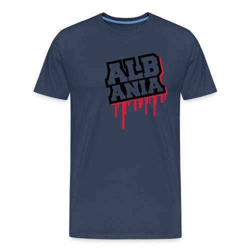 Albania In My Heart - Men's Premium T-Shirt