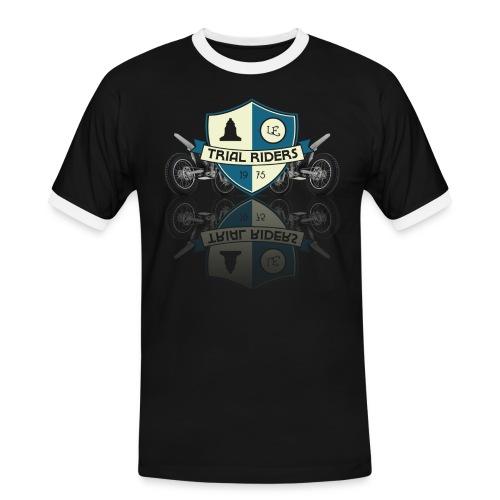 Trial Riders LE - Vintage - Männer Kontrast-T-Shirt