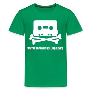 Whyte Taping - Teenage Premium T-Shirt
