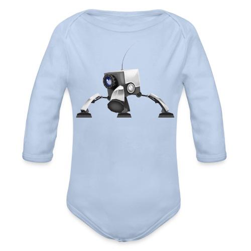 Langærmet babybody, økologisk bomuld