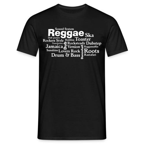 T-Shirt Reggae  - Männer T-Shirt