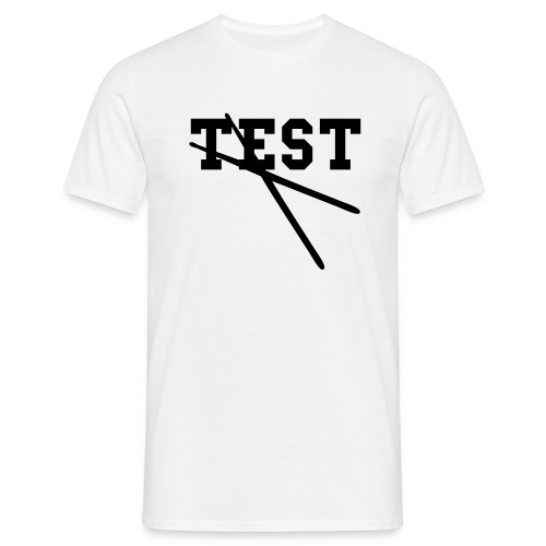 TEST - Mannen T-shirt