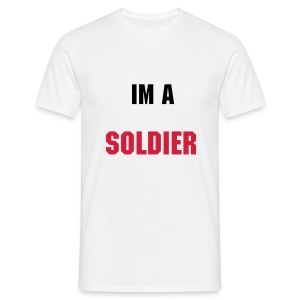 im a soldier tee  - Men's T-Shirt