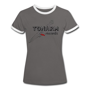 Tonarm T-Shirt Ltd. - Frauen Kontrast-T-Shirt